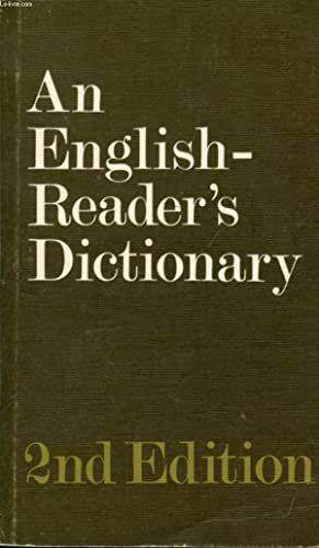 AN ENGLISH-READER'S DICTIONARY: HORNBY A. S.,