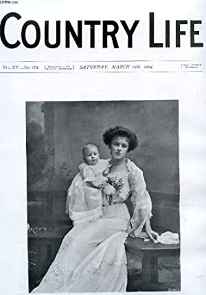 COUNTRY LIFE ILLUSTRATED, VOL. XV, N° 376, MARCH 1904 (Contents: Our Portrait Illustration: Mrs. ...