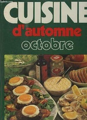 CUISINE D'AUTOMNE - OCTOBRE: COLLECTIF