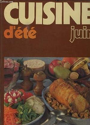 CUISINE D'ETE - JUIN: COLLECTIF