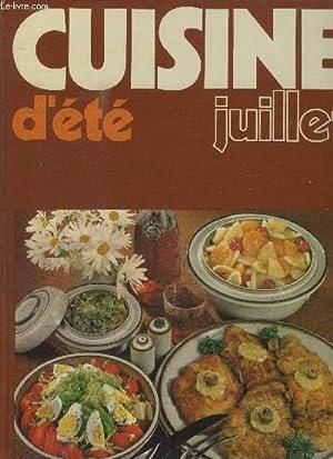 CUISINE D'ETE - JUILLET: COLLECTIF