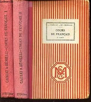 COURS DE FRANCAIS 1ER ANNEE + 2EME ANNEE: BENIELLI - CAILLAT