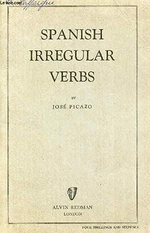 SPANISH IRREGULAR VERBS: PICAZO JOSE