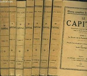 LA CAPITAL- 8 TOMES EN 8 VOLUMES: MARX KARL