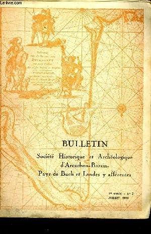 BULLETIN DE LA SOCIETE HISTORIQUE ET ARCHEOLOGIQUE D'ARCACHON (PAYS DU BUCH ET COMMUNES ...