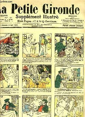 LA PETITE GIRONDE SUPPLEMENT ILLUSTRE - 8EME ANNEE N° 37 SEPT 1905 - l'auberge des pattes ...