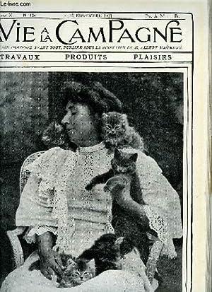 VIE A LA CAMPAGNE N° 124 Ce qu'il faut savoir connaitre du chat - l'alimentation d&#...