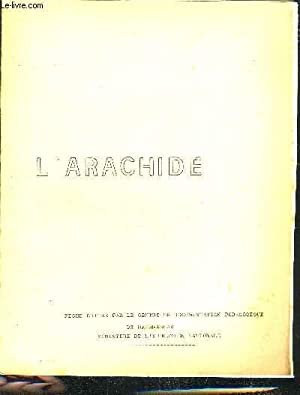 L'ARACHIDE.: COLLECTIF