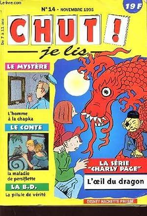MAGAZINE : CHUT JE LIS N°14 - NOVEMBRE 1995 - DE 7 A 11 ANS: COLLECTIF