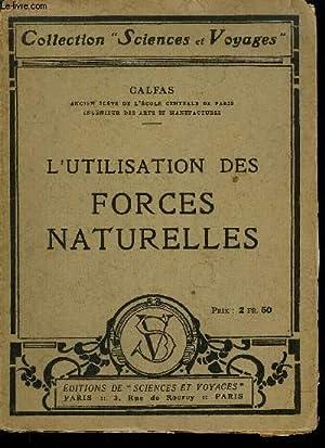 L'UTILISATION DES FORCES NATURELLES: CALFAS P.