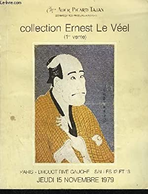 COLLECTION ERNEST LE VEEL (1ERE VENTE) ESTAMPES JAPONAISES