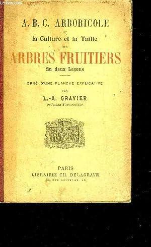 A.B.C. ARBORICOLE OU LA CULTURE ET LA TAILLE DES ARBRES FRUITIERS EN DEUX LECONS.: L.-A. GRAVIER
