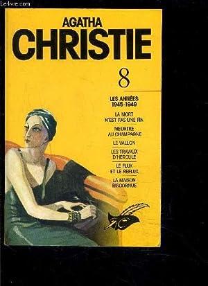 8 - LES ANNEES 1945-1949- la mort: CHRISTIE AGATHA