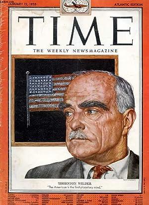 TIME, NEWSMAGAZINE, VOL. LXI, N° 2, JAN. 1953 (Contents: Ex-Speaker Rayburn & Speaker ...