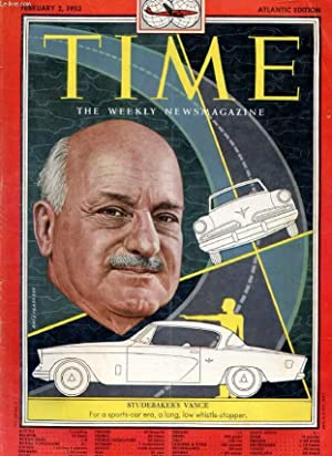TIME, NEWSMAGAZINE, VOL. LXI, N° 5, FEB. 1953 (Contents: Ike's Team. War in Korea, Pang ...