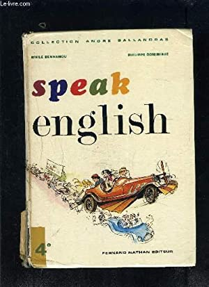 SPEAK ENGLISH- COLLECTION ANDRE BALLANDRAS- 4e