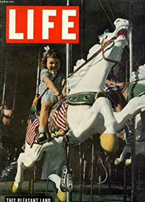 LIFE, INTERNATIONAL EDITION, JULY 21, 1947 (INCOMPLET): COLLECTIF