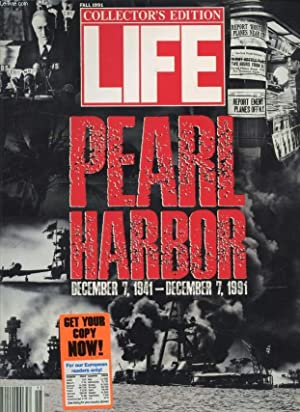 LIFE, VOL. 14, N° 15, FALL 1991 (Contents: COLLECTOR'S EDITION, PEARL HARBOR DEC. 7, 1941 - DEC...