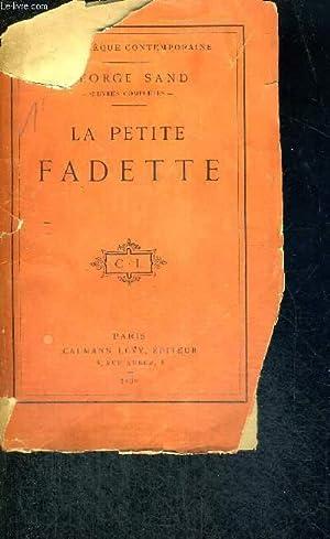 LA PETITE FADETTE - NOUVELLE EDITION: SAND GEORGES