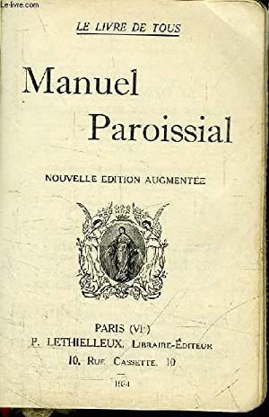 MANUEL PAROISSIAL: COLLECTIF