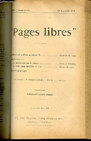 "PAGES LIBRES"" N°306 / SIXIEME ANNEE /: COLLECTIF"