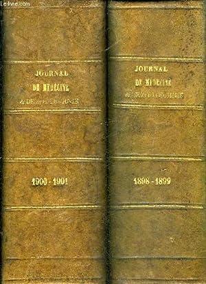 JOURNAL DE MEDECINE VETERINAIRE ET DE ZOOTECHNIQUE - ANNEE 1898 - 1899 - 1900 - 1901 EN DEUX ...