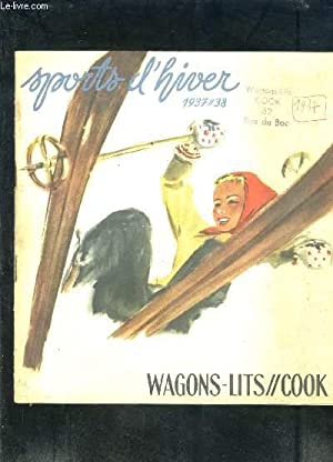 WAGONS-LITS//COOK- SPORTS D HIVER 1937-38: COLLECTIF