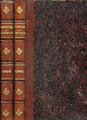 L'ACCLIMATATION JOURNAL DES ELEVEURS - 2 VOLUMES : ANNEES 1905 ET 1906.: COLLECTIF