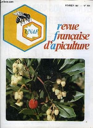 REVUE FRANCAISE D'APICULTURE N°394 FEVRIER 1981 Nourrissement: COLELCTIF