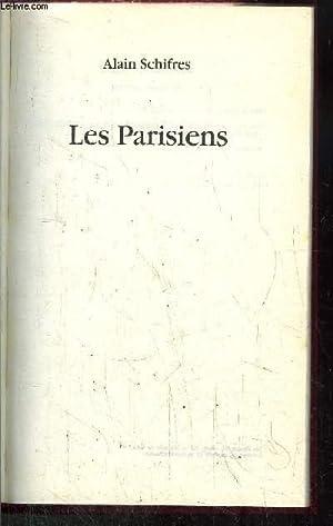 LES PARISIENS: SCHIFRES Alain