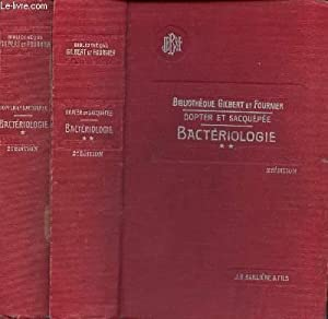 BACTERIOLOGIE - EN 2 VOLUMES : TOMES 1 + 2 / 2 e EDITION.: DOPTER / SACQUEPEE