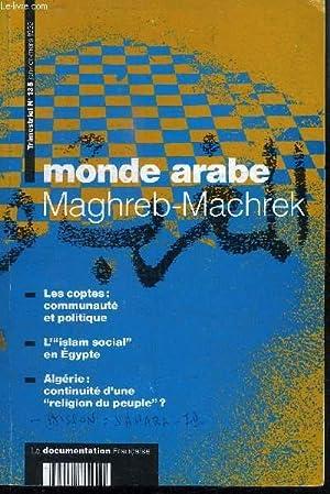 MAGHREB-MACHREK N°135 - Les coptes : communauté et politique, l'Islam social en ...
