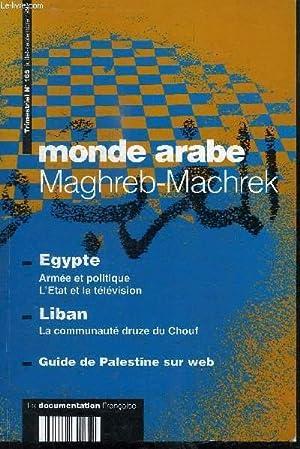 MAGHREB-MACHREK N°165 - Egypte : armée et: COLLECTIF