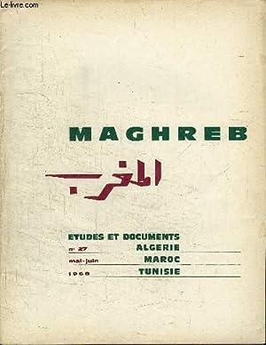 MAGHREB N°27 - L'accord financier franco-tunisien du: COLLECTIF