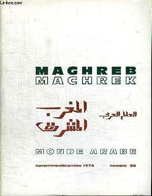 MAGHREB MACHREK N°66 - Le sommet de: COLLECTIF