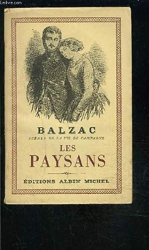LES PAYSANS: BALZAC H DE.