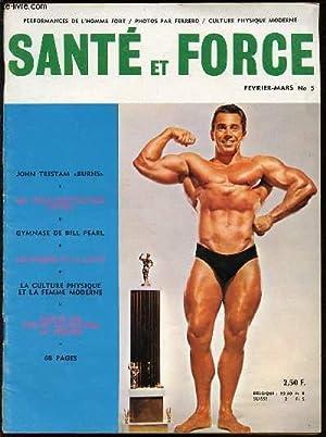 "REVUE ""SANTE ET FORME"" N°5 / FEVRIER-MARS / SOMMAIRE : JOHN TRISTAM ""..."