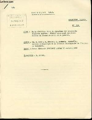 DOCUMENT I.N.S. N°432 : ATHLETISME LANCERS -: GROH H., KUBETH