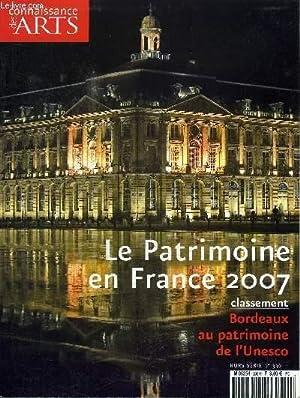 LE PATRIMOINE EN FRANCE 2007 N°336 -: COLLECTIF