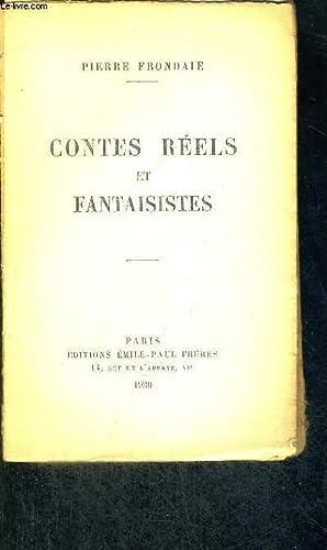 CONTES REELS ET FANTAISISTES: FRONDAIE PIERRE