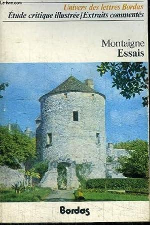 MONTAIGNE - ESSAIS: FAISANT CLAUDE