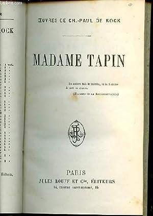MADAME TAPIN.: DE KOCK CH. PAUL