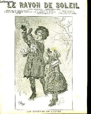 JOURNAL MENSUEL LE RAYON DE SOLEIL 34EME ANNEE N°1 JANVIER 1907 - LES CHARMES DE L'HIVER -...