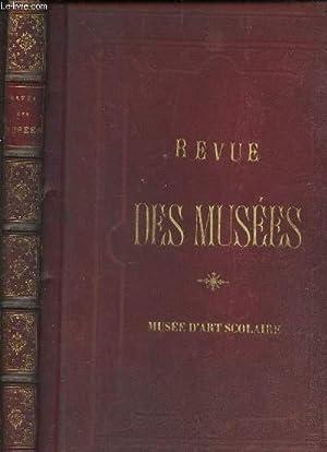 REVUE DES MUSEES - MUSEE D'ART SCOLAIRE.: COLLECTIF