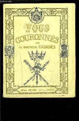 FOUS COURONNES: CABANES DOCTEUR