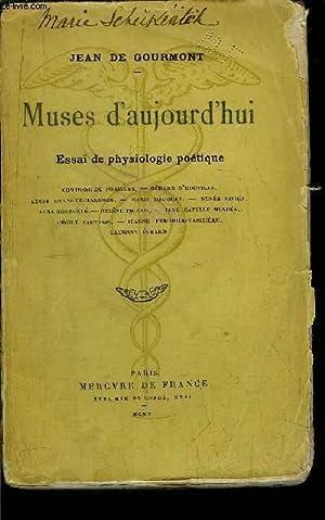 MUSES D'AUJOURD'HUI: DE GOURMONT JEAN