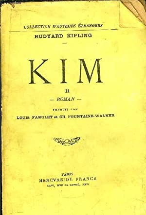 KIM - TOME II: KIPLING Rudyard