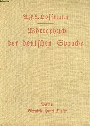 WÖRTERBUCH DER DEUTSCHEN SPRACHE: HOFFMANNS P.F.L.