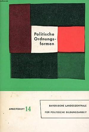 POLITISCHE ORDNUNGSFORMEN DER GEGENWART: STAMMEN THEO