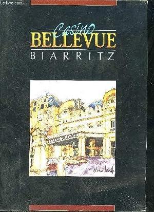 PLAQUETTE : CASINO BELLEVUE BIARRITZ.: COLLECTIF